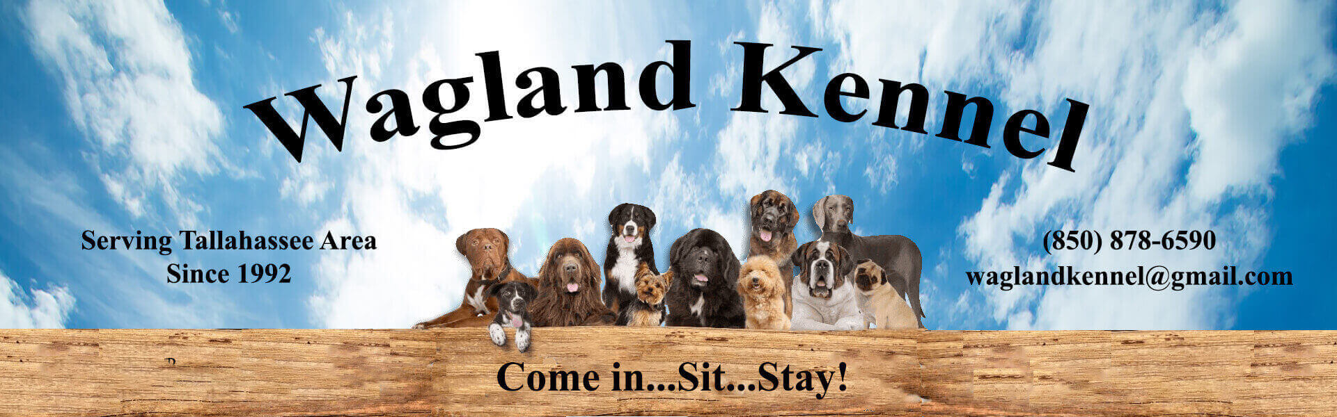 Wagland Kennel Header Image